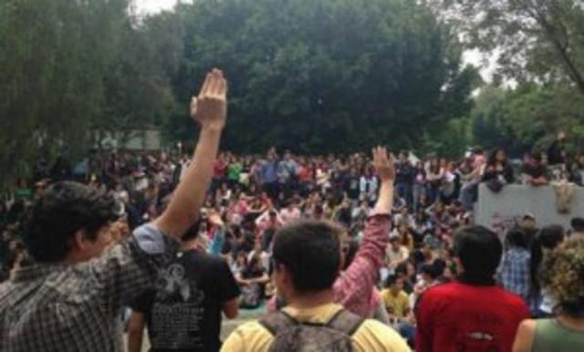 estudiantes paro universidad