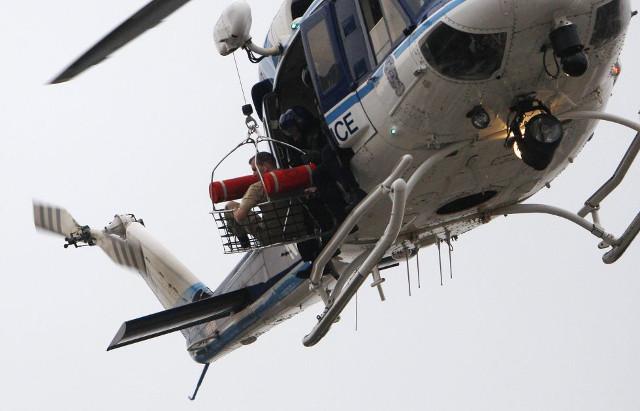 tiroteo helicoptero