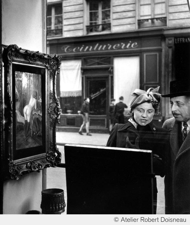 La mirada oblicua, Paris, 1948
