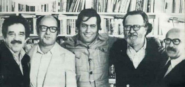 García Márquez, Jorge, Edwards, Vargas Llosa, Dnoso y Muñoz Suaz