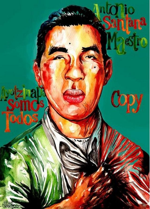 ilustradores con ayotzinapa10