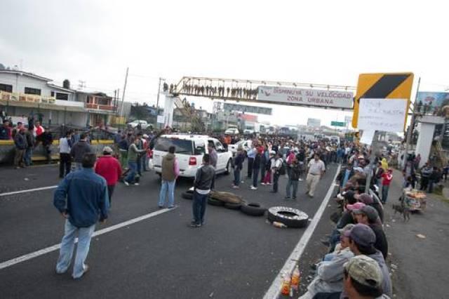 bloqueo mexico-cuernavaca