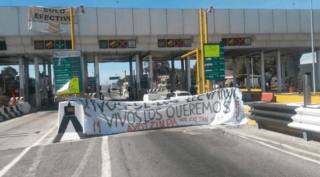 caseta esperanza ayotzinapa