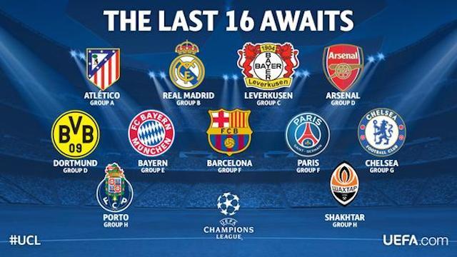 equipos clasificados
