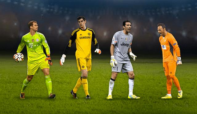 porteros XI uefa