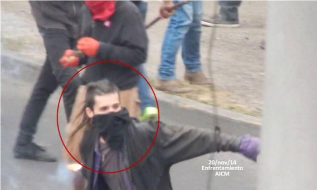 sandino protestas 20NovMx3