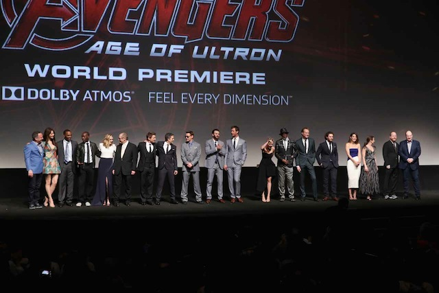 """World Premiere Of Marvel's """"Avengers: Age Of Ultron"""" - Red Carpet"""