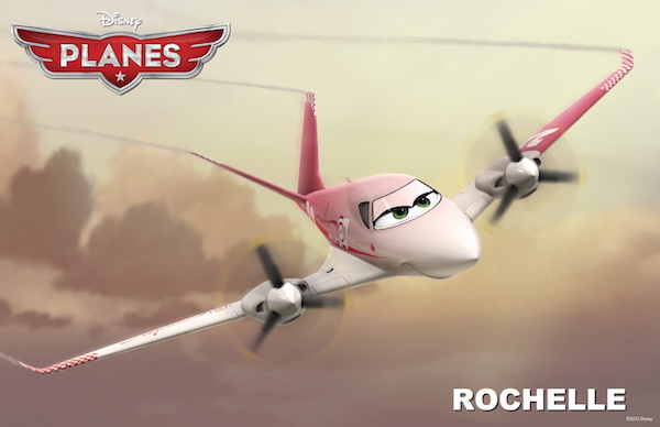"""""""PLANES"""" (Pictured) ROCHELLE. �2013 Disney Enterprises, Inc. All Rights Reserved."""