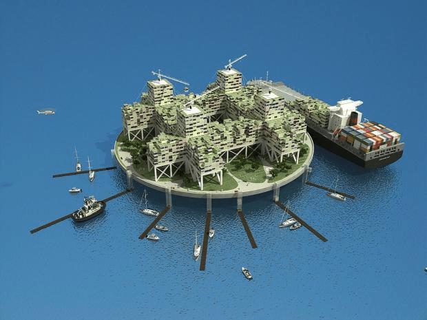 Multimillonario buscará construir nuevos países