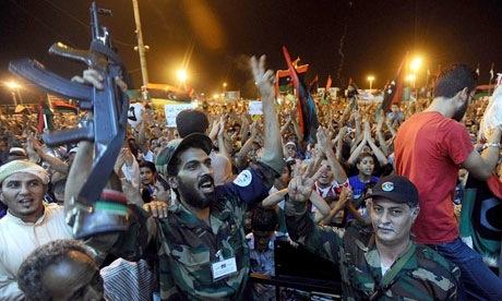 Últimos momentos de Muamar Gadafi en el poder