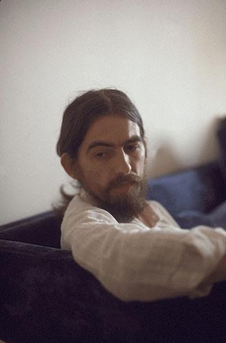 With a little help of your friends: más fotografías de George Harrison
