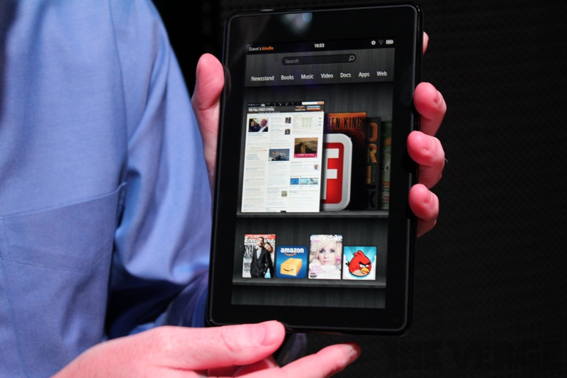 Kindle Fire y lo nuevo de Amazon