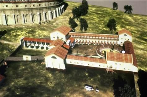 Descubren las ruinas de una escuela de gladiadores en Austria