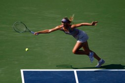 Sharapova huge reach