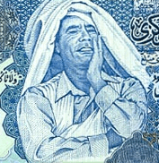 ¡Por los billetes de Gadafi!