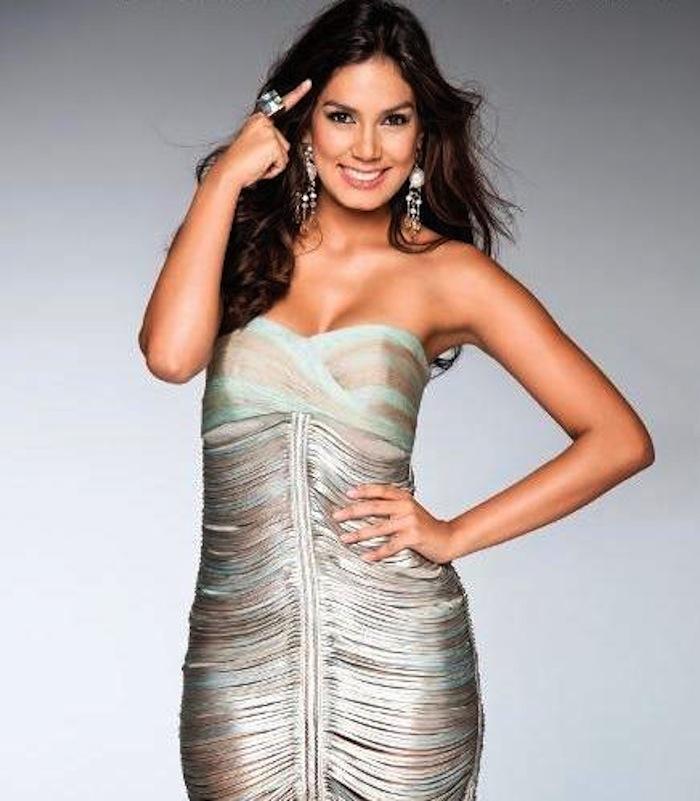 Miss Colombia flashea al mundo