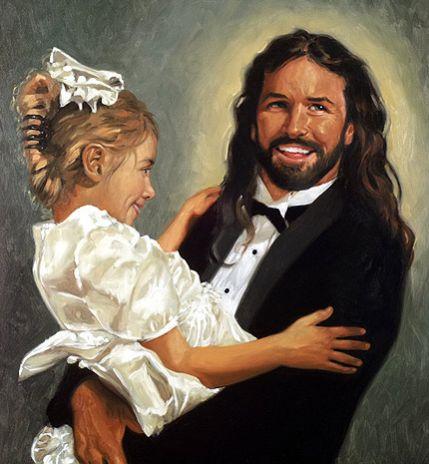 Y en la imagen del día....Jesucristo Siglo XXI