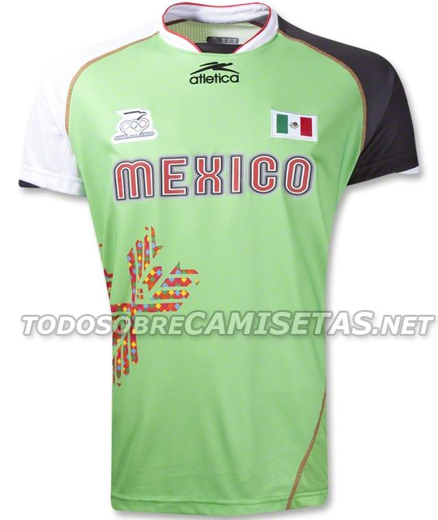 Estas serían las camisetas de México en los Juegos Olímpicos Londres 2012 bb9d5125c0cd9