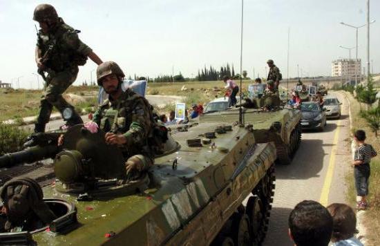 Imágenes de la represión en Siria (NSFW)