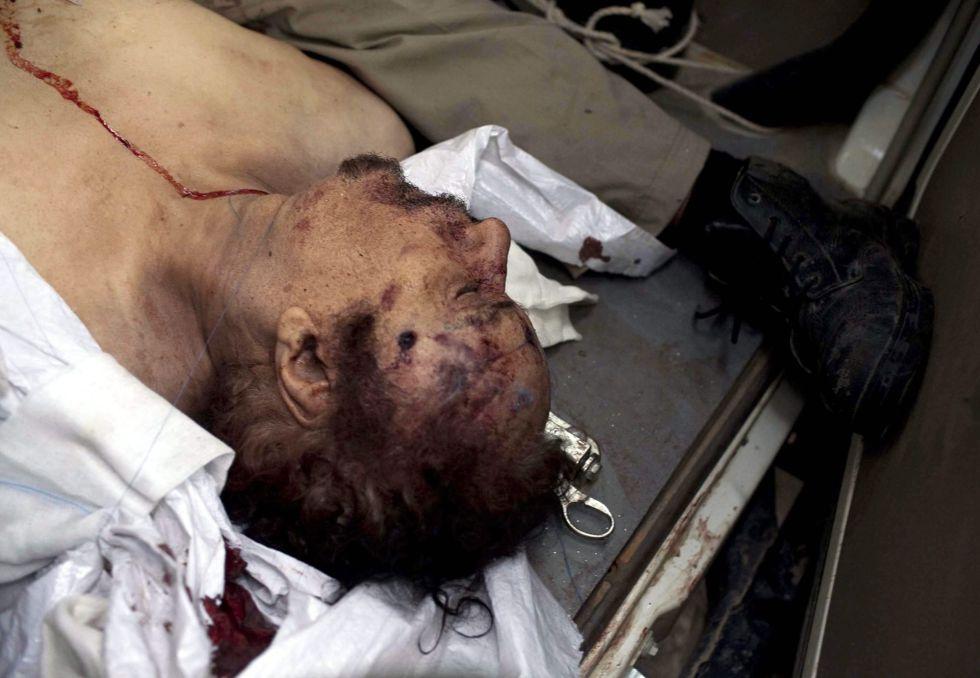 La caída de  Muamar Gaddafi en imágenes