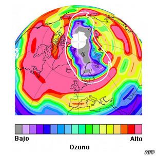 El Ártico también tiene su agujero de ozono