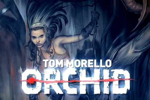 Conoce Orchid, el comic de Tom Morello