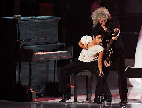 Lady Gaga reemplazaría a Freddie Mercury