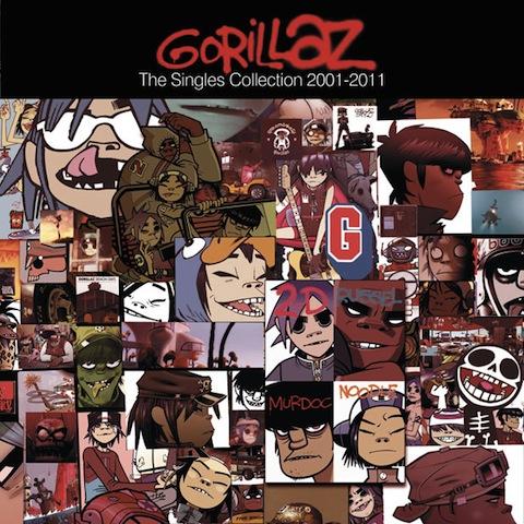 Gorillaz celebra sus diez años con un disco de éxitos