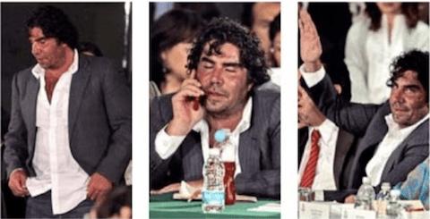 Jorge Kahwagi llega borracho a San Lázaro