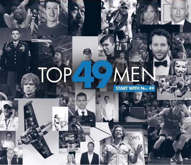 Los hombres más influyentes de 2011