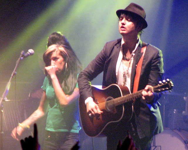 El fantasma de Amy Winehouse visita a Pete Doherty