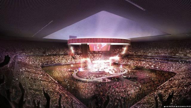 Imperdible, el nuevo Bordeaux Stadium de Francia