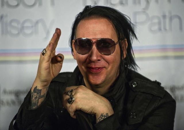 Marilyn Manson presenta su arte en México