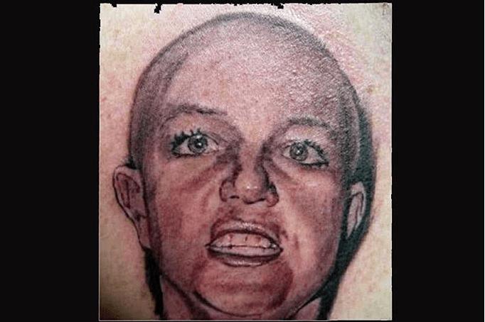 Y en la nota idiota del día.... los peores tatuajes