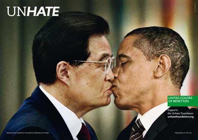 Imágenes: besos presidenciales por la paz mundial
