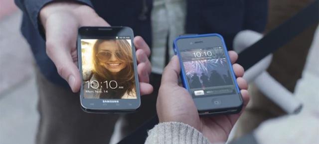 Un comercial del Galaxy SII que ataca a los fans de Apple