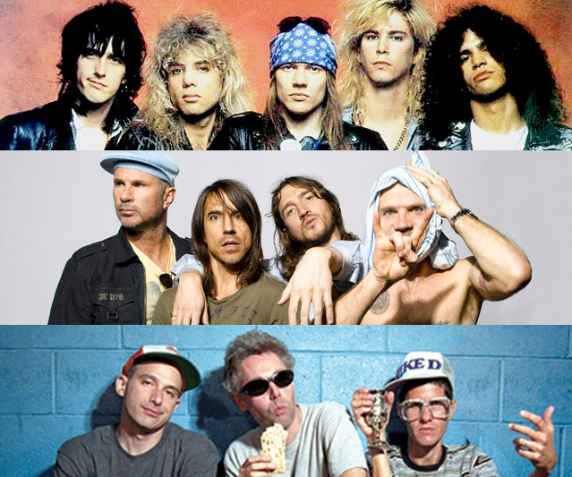 Guns N' Roses, Red Hot Chili Peppers y Beastie Boys al Salón de la Fama