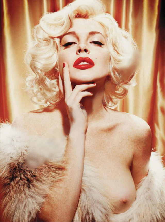 Y con ustedes...la sesión fotográfica de Lindsay Lohan para Playboy