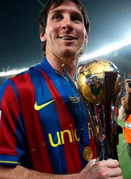 Messi, el mejor deportista del año para L'Equipe