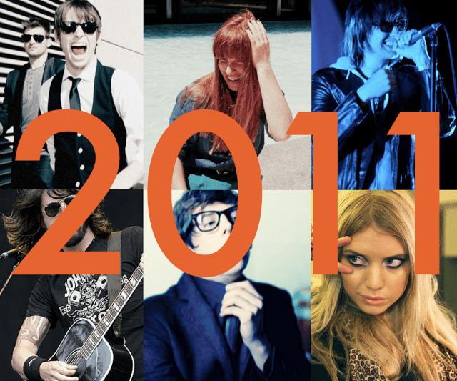 Nuestras canciones favoritas del 2011