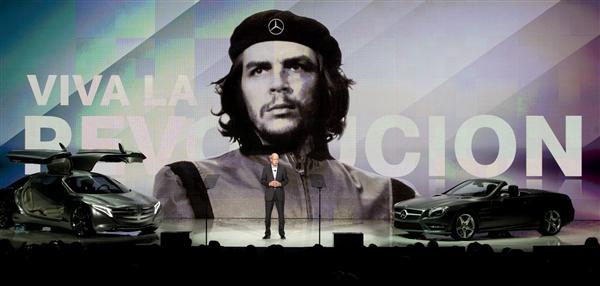 El Che Guevara ¿en campaña para Mercedes Benz?