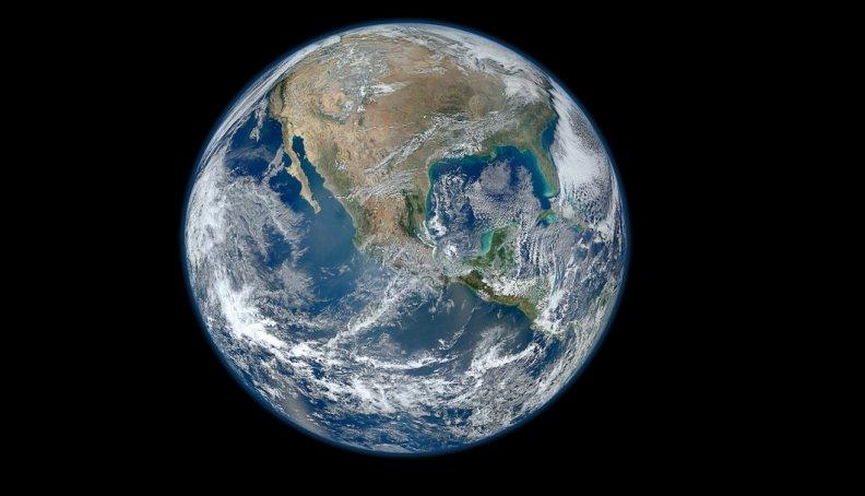 La mejor foto de la Tierra, tomada por la NASA