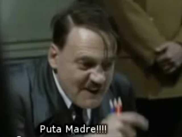 Hitler, enfurecido por el cierre de Megaupload