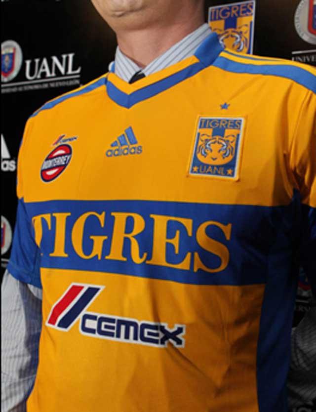Conoce el nuevo uniforme y escudo de Tigres de la UANL