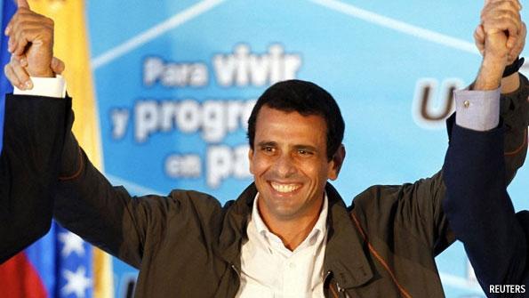 Capriles vs Chávez