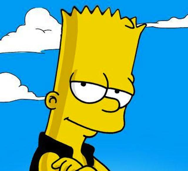 Bart Simpson se estrena en la pasarela