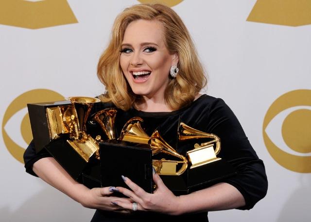 Los mejores momentos de los Grammy 2012 en video