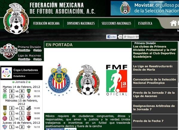 La FMF veta al Diario Récord