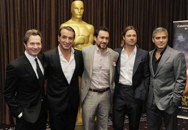 Bichir, elogiado por Pitt y Clooney