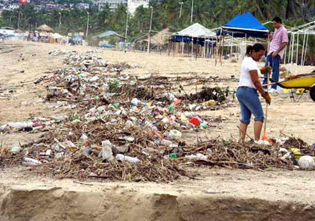 Las playas más contaminadas de México